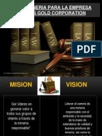 Ley de Mineria Para La Empresa Kinross Gold