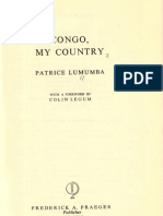 Congo My Country - Patrice Lumumba