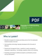 Lystek Presentation Sep 27 2012
