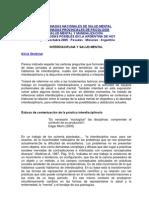 IES - 3 Stolkiner, Interdisciplina y Salud Mental