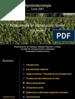 Biotecnologia de La Reproduccion Animal