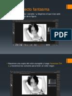 Modulo Adobe Photoshop Efecto Fantasma