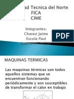 MAQUINAS TERMICAS DIAPOSITIVAS