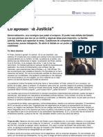 """Lo apodan """"la Justicia"""""""