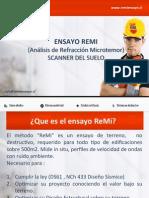 ReMi El Scanner Del Suelo (Soil Scanner)