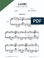 Delibes - Lakme (Vocal Score)