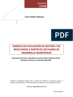 Modelo Evaluacion Gestión y de Resultados