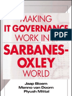 Making It Governance Work in a Sarbanes Oxley World