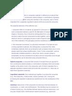Glossário de COMPÓSITOS DE MATRIZ DE METAL METALURGIA