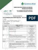 Boletim Informativo Congresso Regional