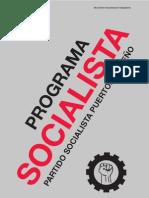 Programa del Partido Socialista Puertorriqueño