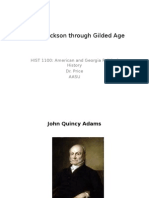Age of Jackson Through Gilded Age