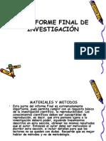 Clase 4 y 5. Materiales y Metodos