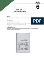 Sociologia Da Educacao Aula 6