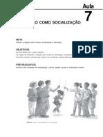 Sociologia Da Educacao Aula 7