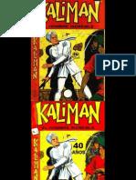 Kaliman MR Profanadores de Tumbas No. 001 Serie Original
