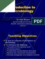 Introduction Microb