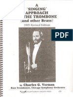Charles G. Vernon - A Singing Approach to the Trombone 1995