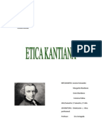 Trabajo de Etica Kantiana