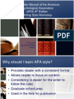 APA 6th Edition Condensed