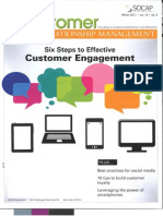 6 Steps to Customer Engagement