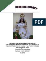 Virgen de Chapi Arequipa