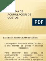 Tema 05 -Acumulacion de Costos (Costos Por Ordenes)