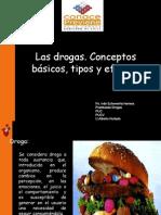 CONCEPTOS BÁSICOS DE LAS DROGAS