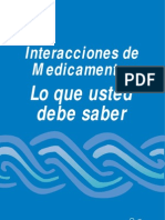 Druginteractions Spanish