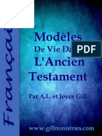 French - Modeles de Vie Dans l'Ancien Testament