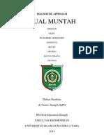 Diagnostic Approach MUAL MUNTAH