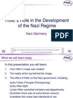 5. Hitler's Role in the Development of the Nazi Party