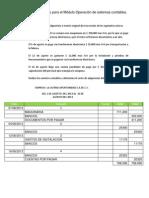 Prácticas de Operación de sistemas contables