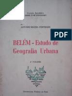 Belém -  Estudo de Geografia Urbana. 2º volume