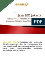 Jasa SEO Jakarta Presentation by Webdesignventure