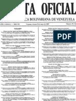 Gaceta Oficial de Venezuela 08 de Mayo 2009 Lista de Empresas Nacionalizadas
