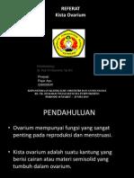 Referat Kista Ovarium