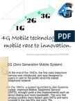 4G Technology by harsha