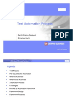 Automation n Scrum