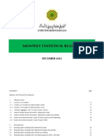 AMBD Monthly Statistical Bulletin - December 2012