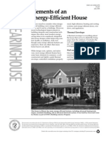 Elements of an Energy Efficient House (2000) US Dept of Energy