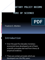 Will Monetary Policy Become More of Science Ppt