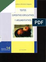 El Texto Expositivo-explicativo y El Texto Argumentativo
