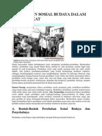Perubahan Sosial Budaya Dalam Masyarakat