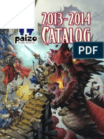 Paizo Cataloge 2013
