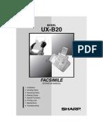 Fax Man UXB20