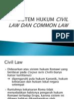 Civil Law-common Law