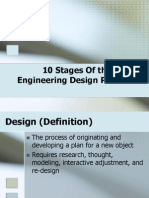 10 Stages of the Engineering Design