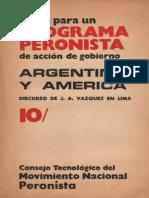 Argentina y America