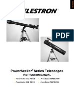 Power Seeker Az telescope manual